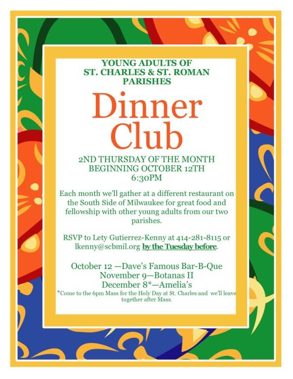 YA Dinner Club