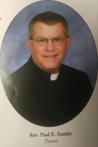 Photo of Rev Paul E. Sumler