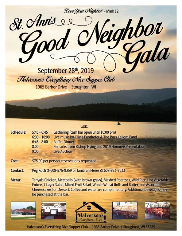 Good Neighbor Gala