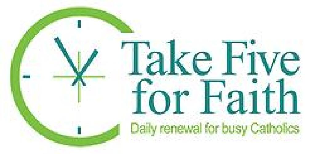 Take Five For Faith logo
