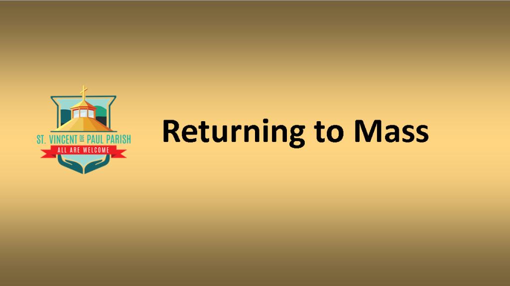 Returning to Mass Video