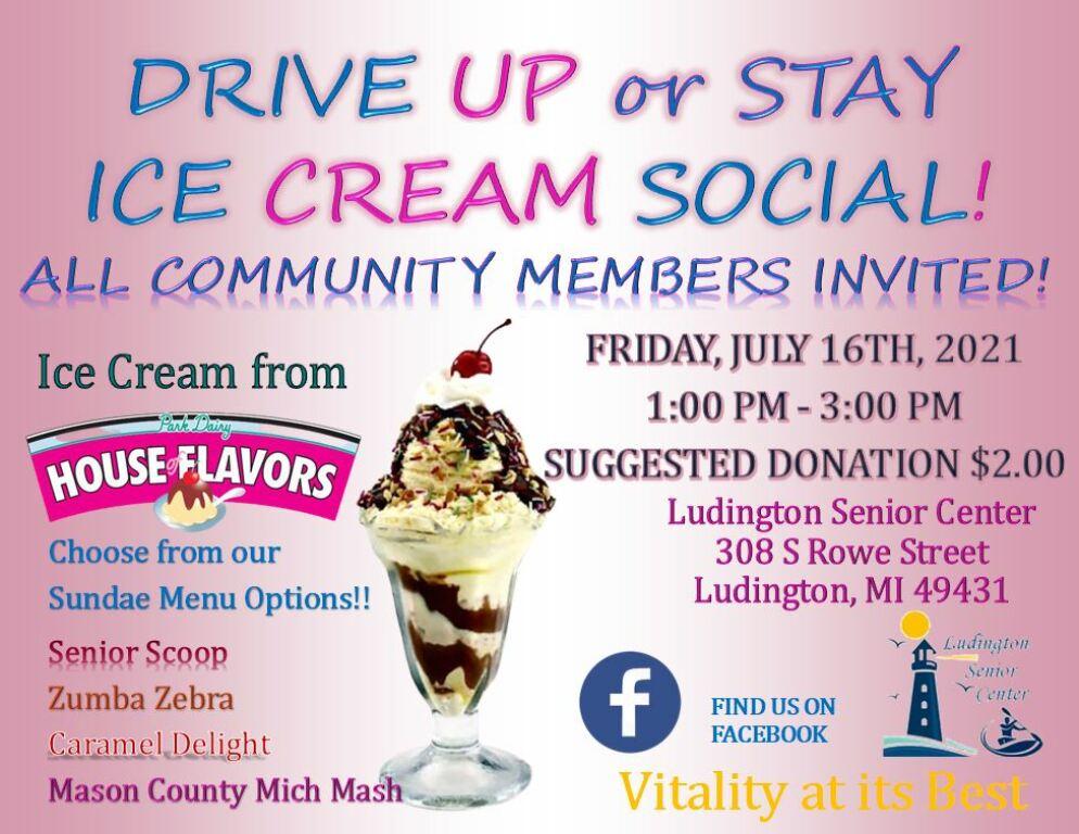 Ice Cream Social - July 16, 2021