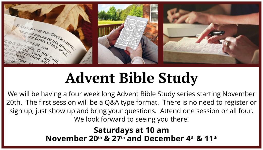Advent Bible Study 2021