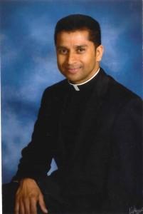 Photo of Fr. Mathew Cheruparambil