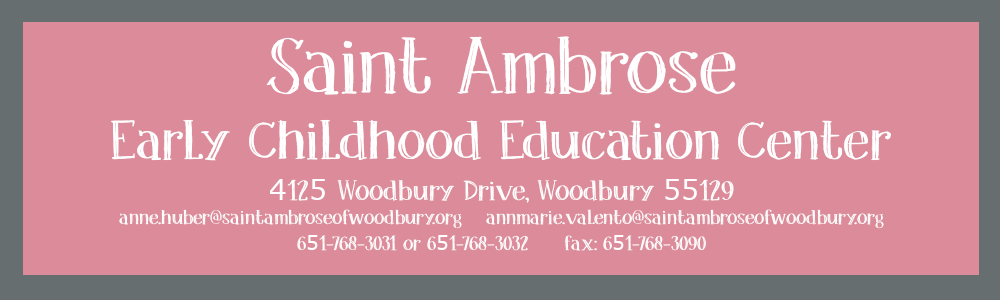 Saint Ambrose Early Childhood