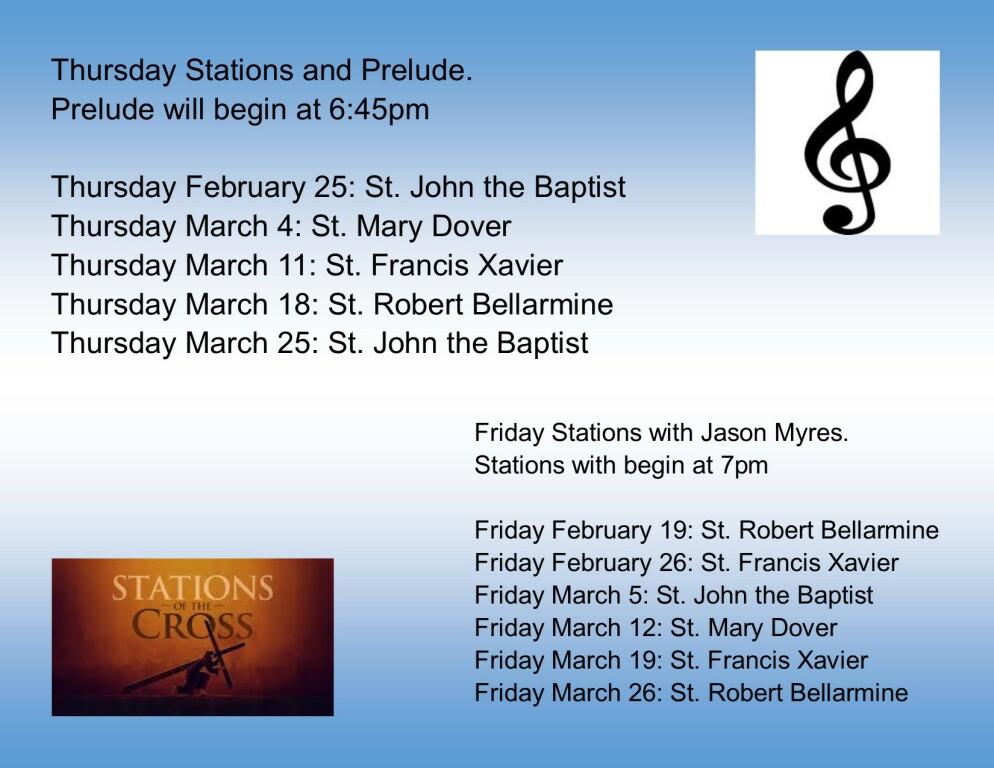 Lenten Stations