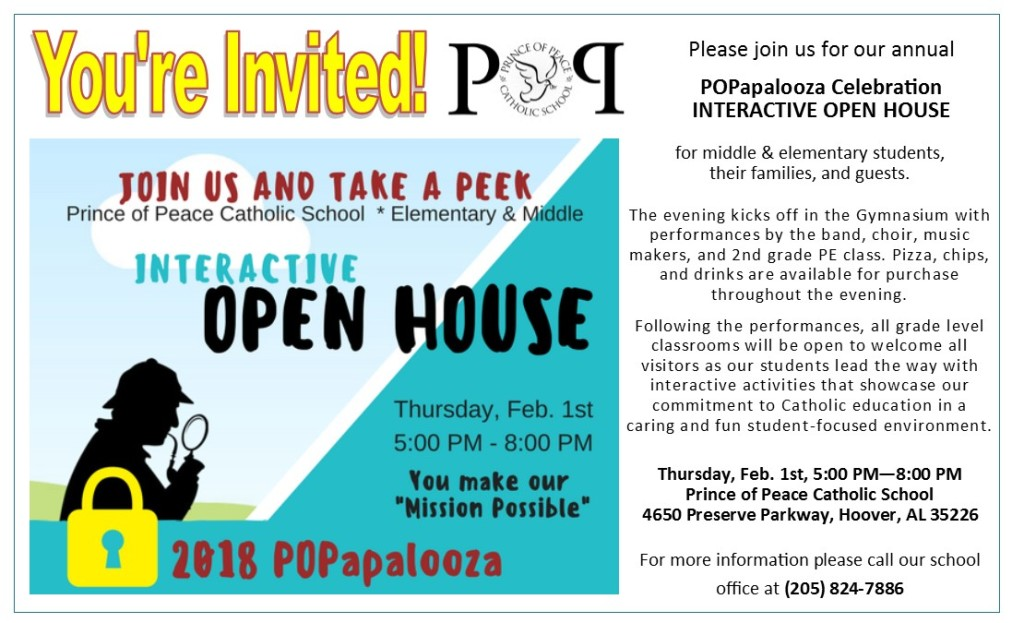 2018 open house graphic