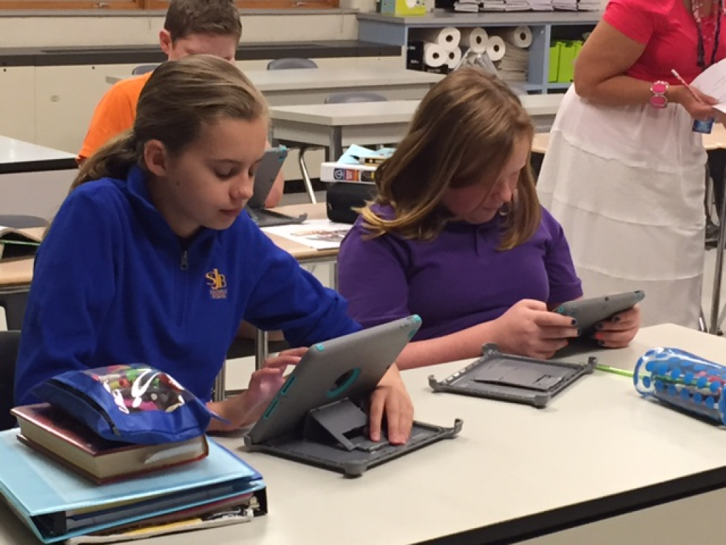 iPads in Use