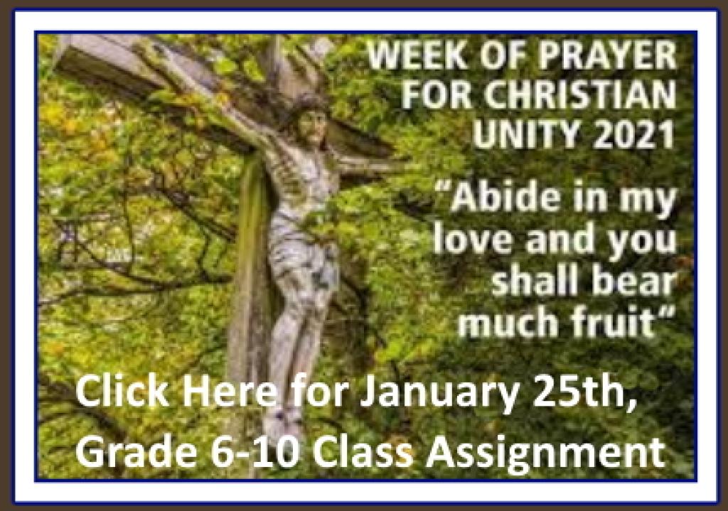 Grade 6-10 Class Assignment