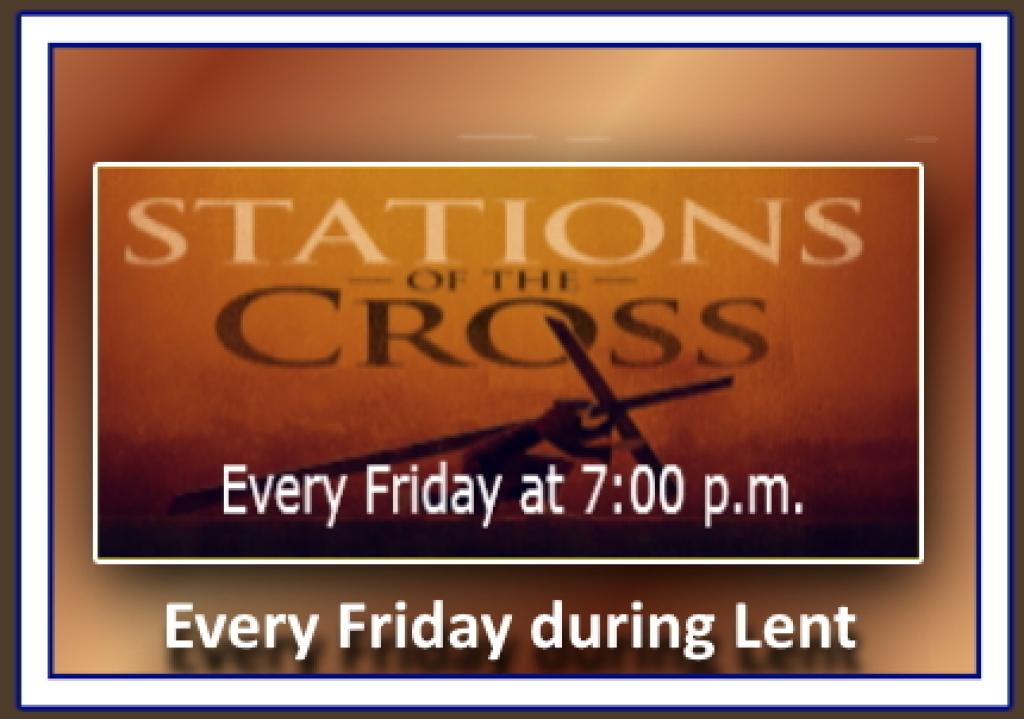 Stations of the Cross Flier