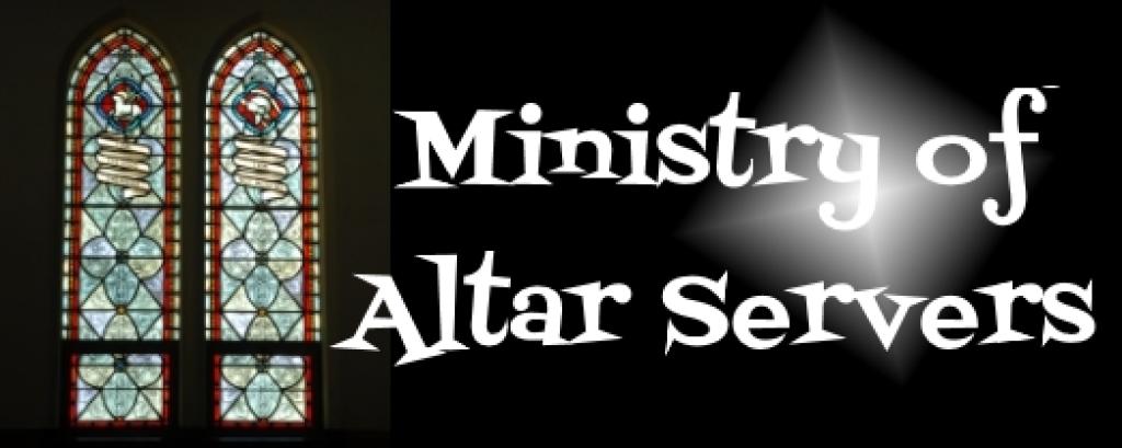 Altar Servers Banner