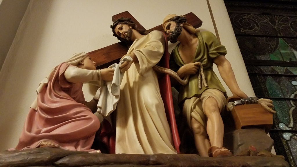St  Bernard Stations of the Cross | Heart of Peoria Catholic