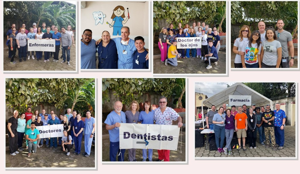 2020 Holy Family Honduras Medical Mission Team