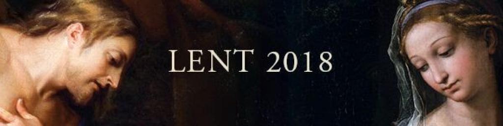 Lent 2018