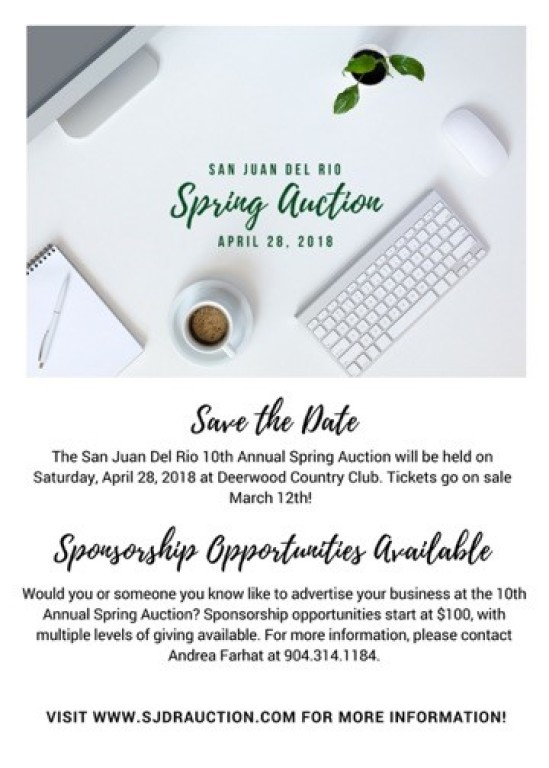 2018 Spring Auction