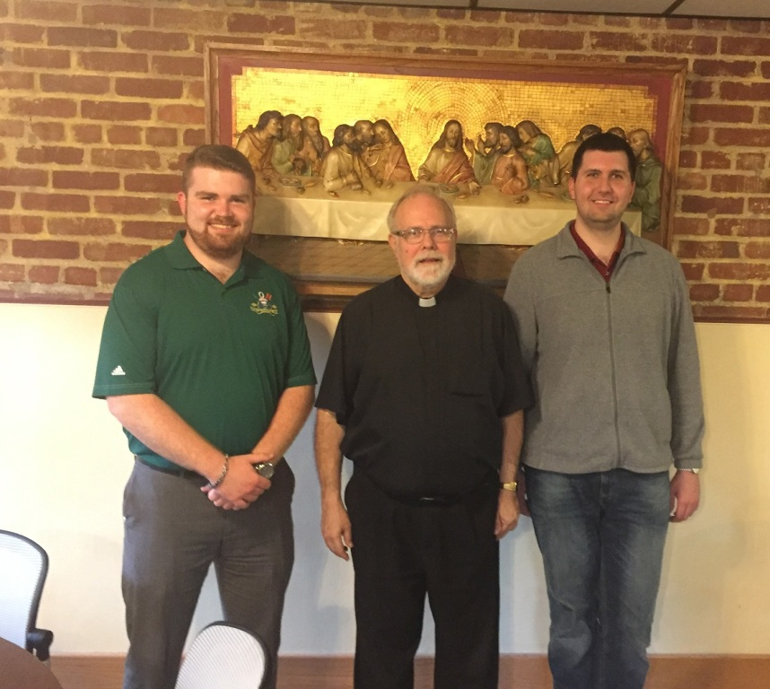 Thomas Kadlick, Fr. Speicher, Brendan Dawson