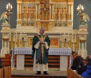 Photo of Reverend Patrick Egan, O.S.B.