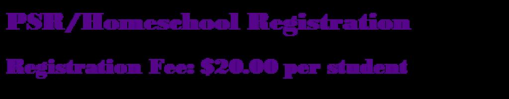 PSR Home-school Registration Icon
