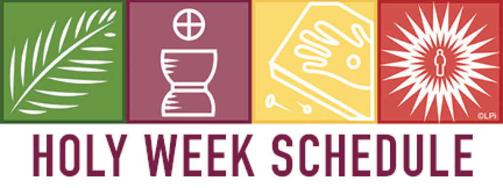 Holy Week Schedule Icon