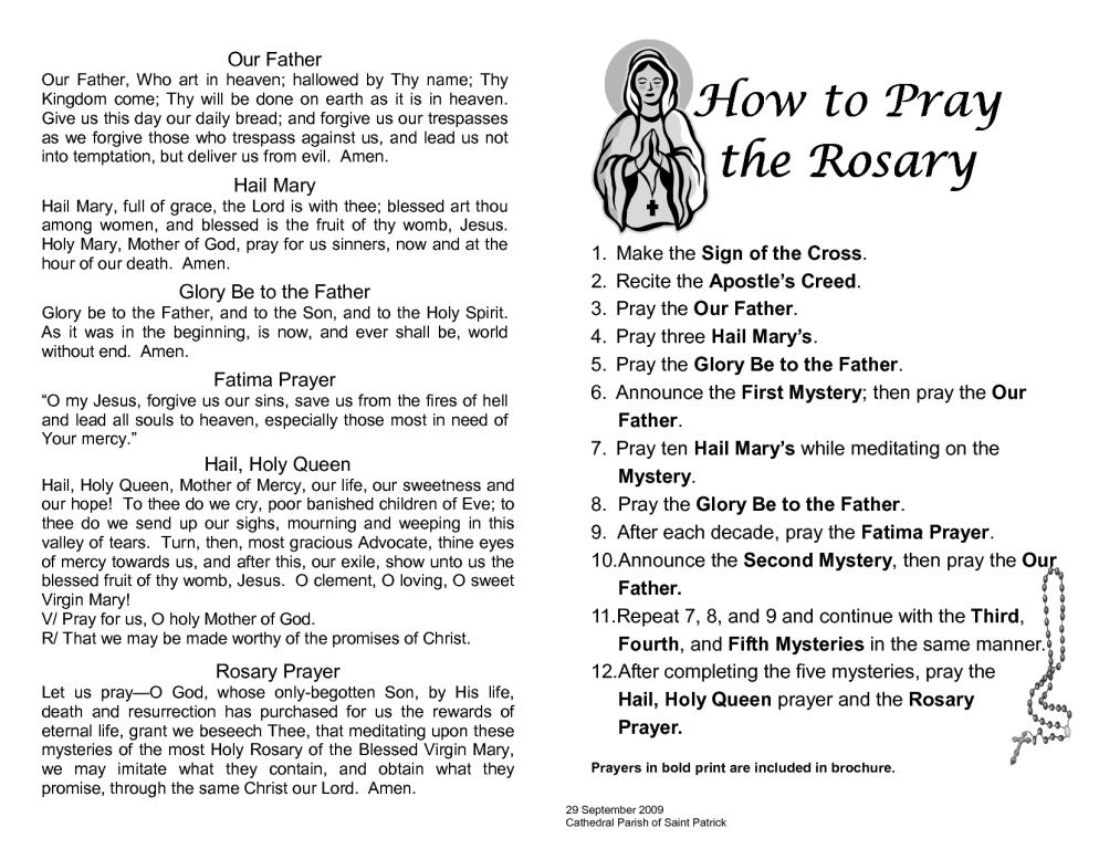 Rosary Prayers