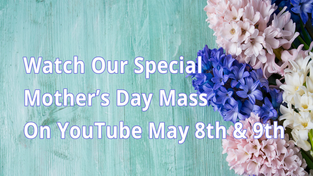 2021 St Charles Mothers Day Mass Promo Image