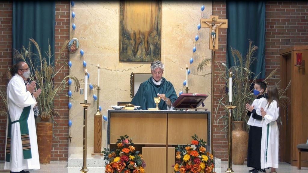 2021 St. Charles Borromeo Mass Photo