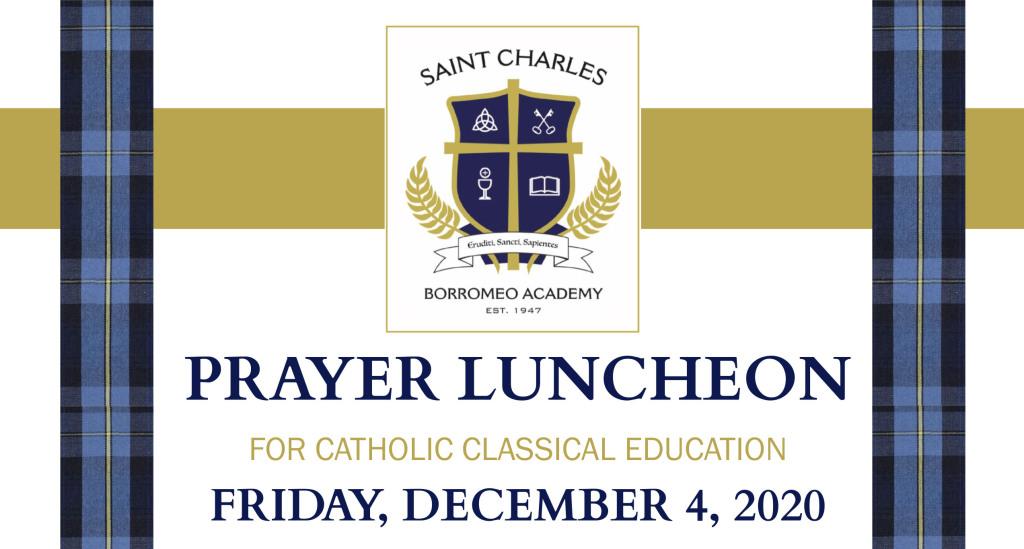 2020 St. Charles Virtual Prayer Luncheon Promo Image