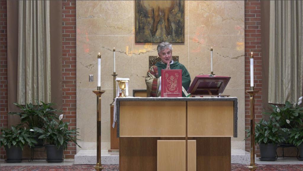 St. Charles Borromeo Parish Virtual Mass Image