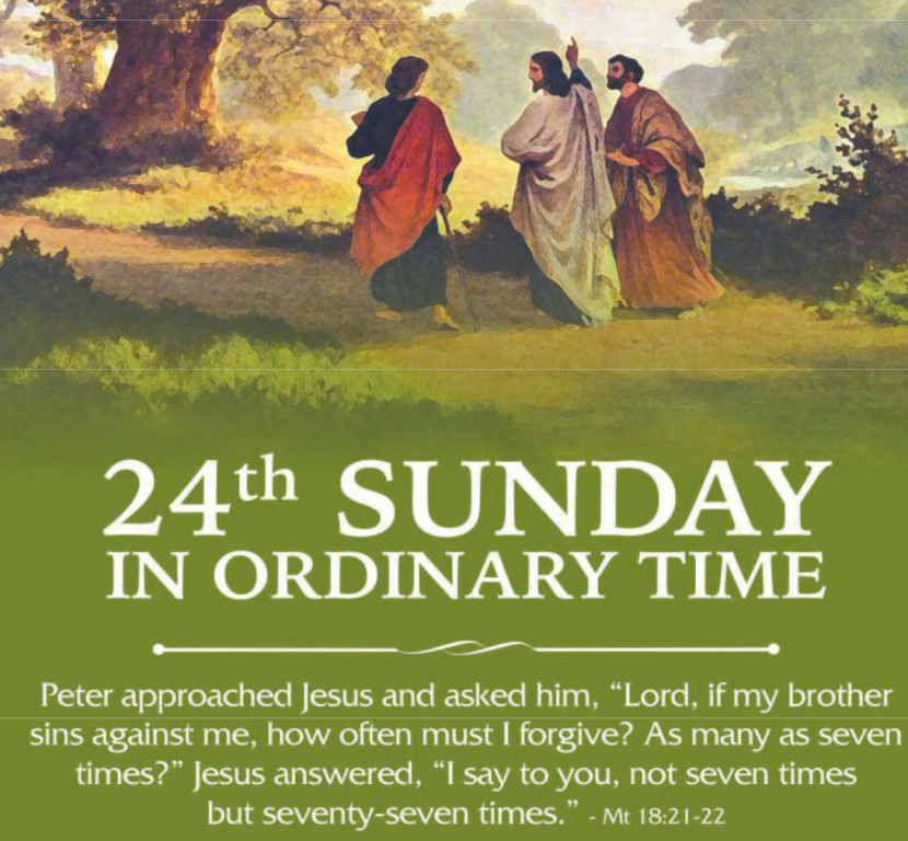 24th. Sunday in Ordinary Time