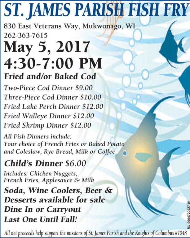 May 5 Fish Fry