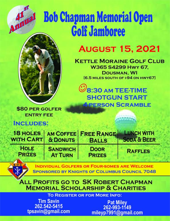 Knights of Columbus Bob Chapman Golf Outing