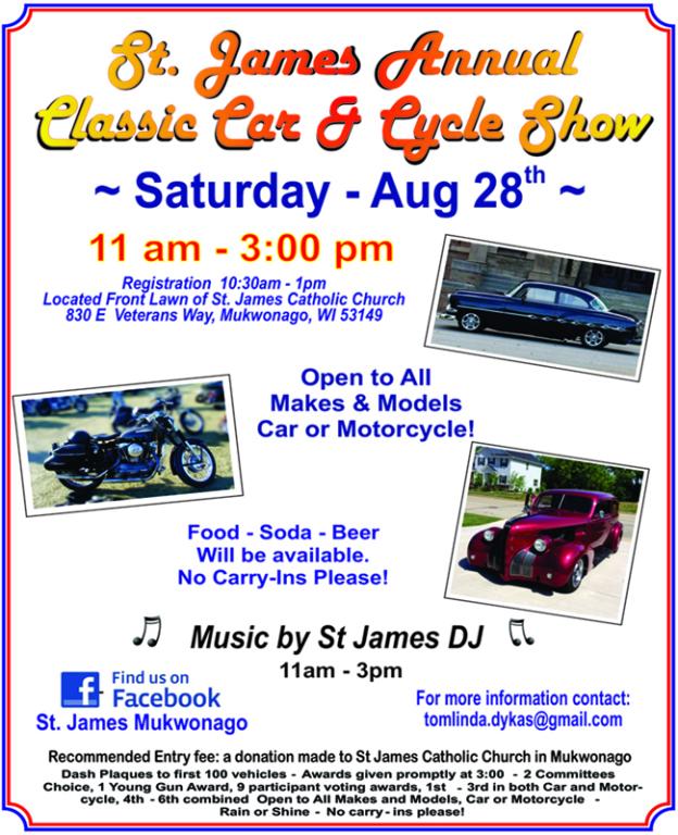 St James Festival Classic Car & Cycle Show