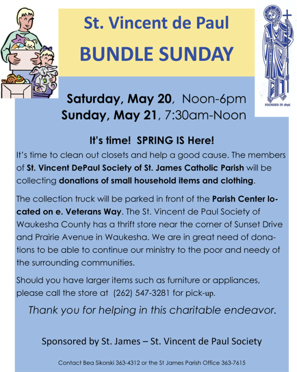 Bundle Sunday May 20-21