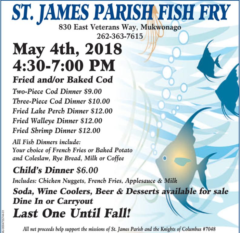 April 6 Fish Fry