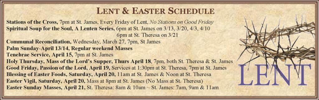 Lent-Easter 2019