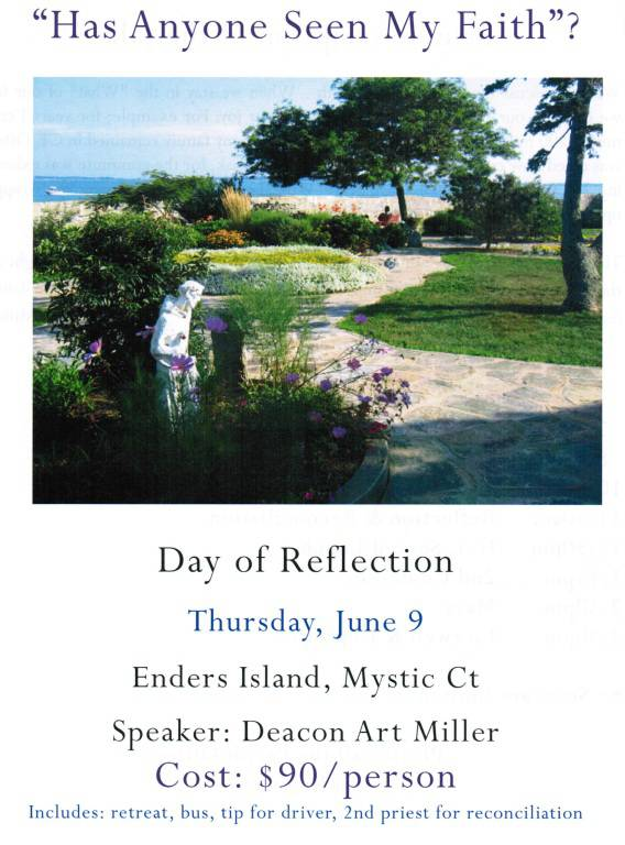Day of Reflection Flyer