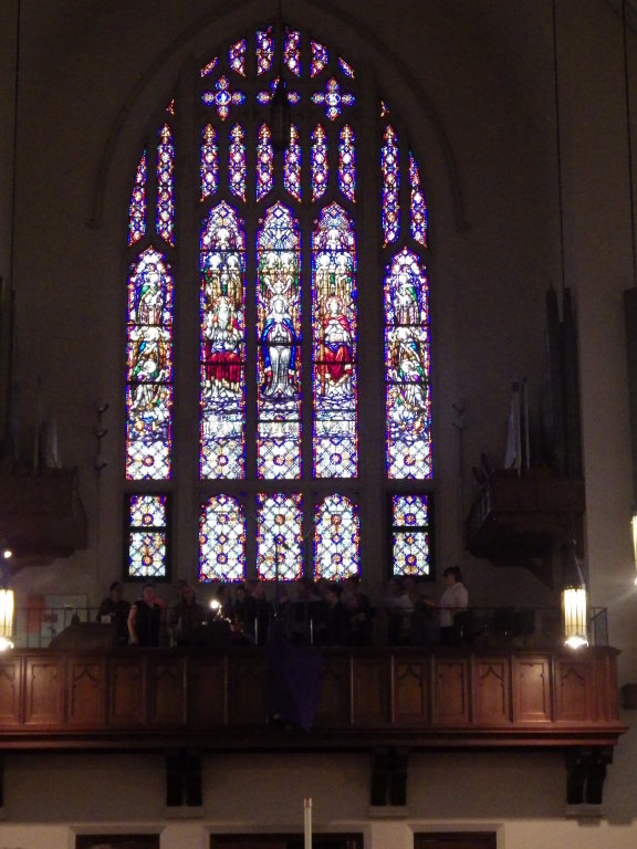 Stained Glass Window Sacred Heart