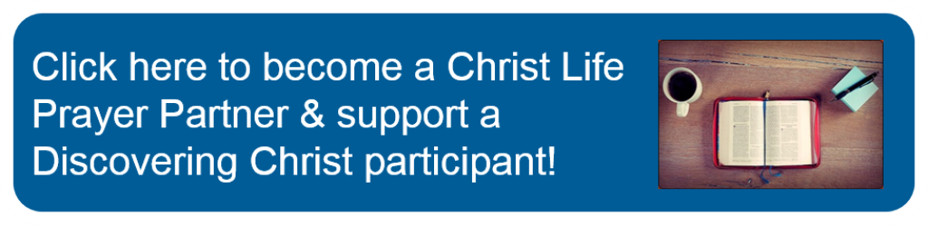 Christ Life Discovering Christ Prayer Partner