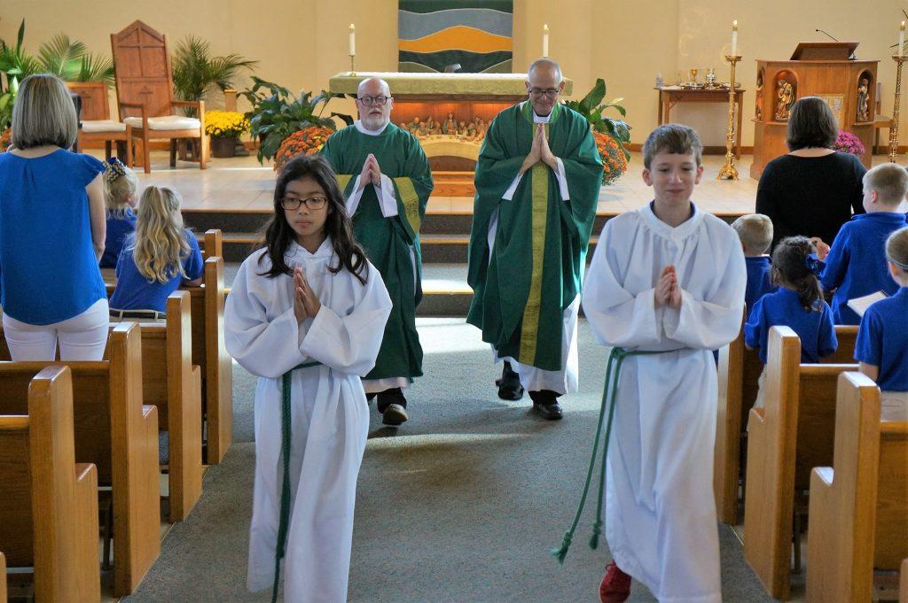 Mass Schedule & Sacraments | St  John the Baptist Catholic Parish