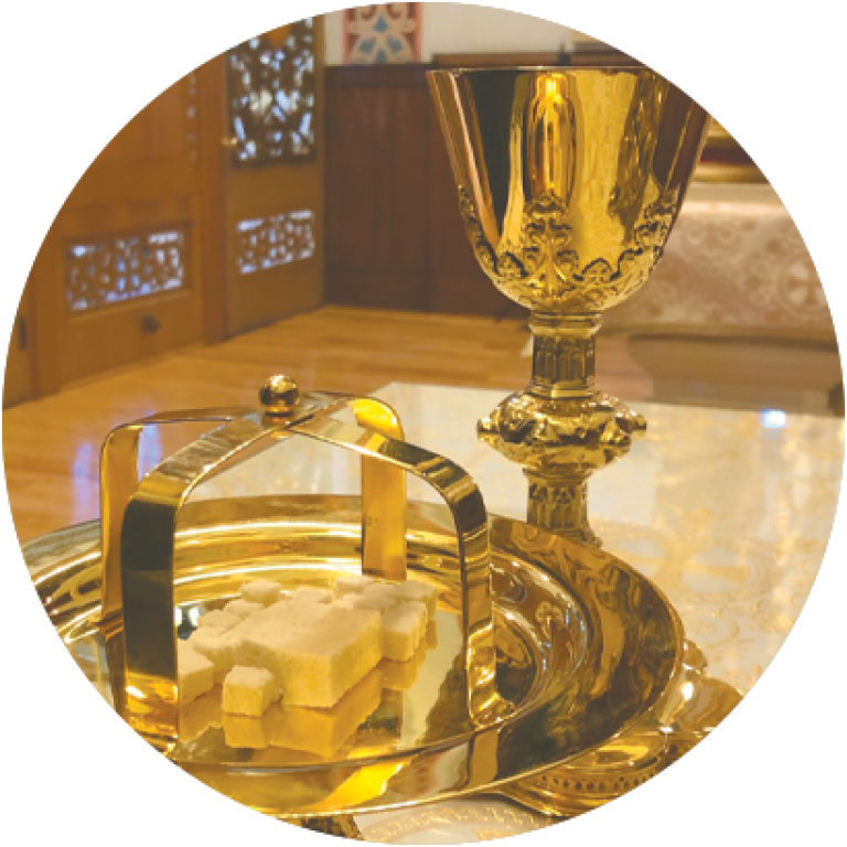 Correct Chalice and Bread