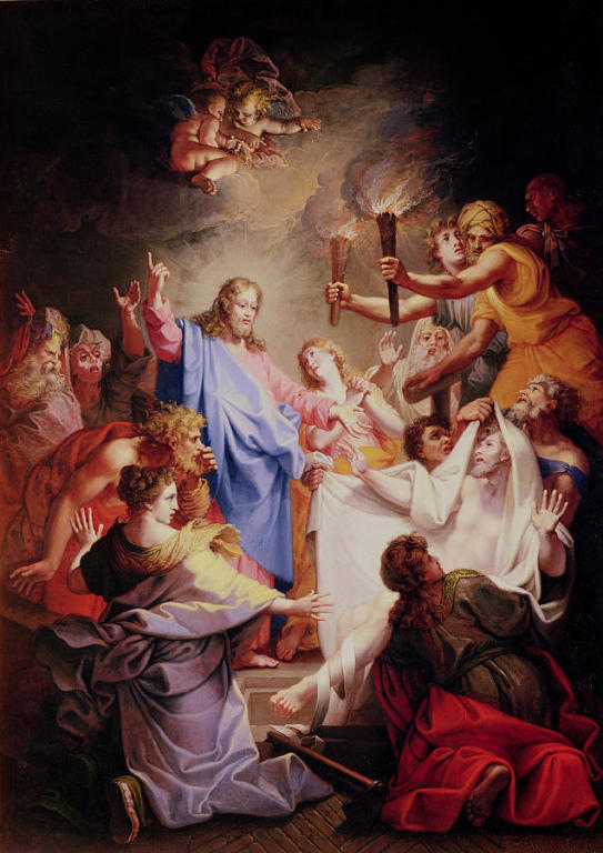 The Ressurection of Lazarus by Jean Baptiste Corneille