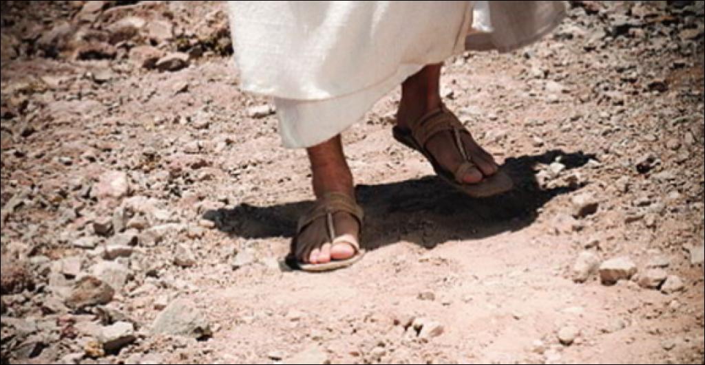 Walking Jesus