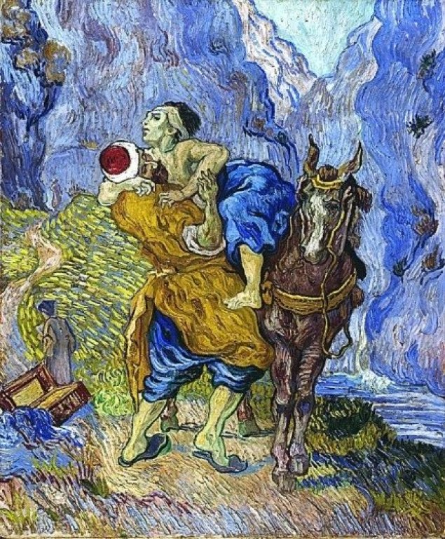 "Vincent Van Gogh ""The Good Samaritan"""
