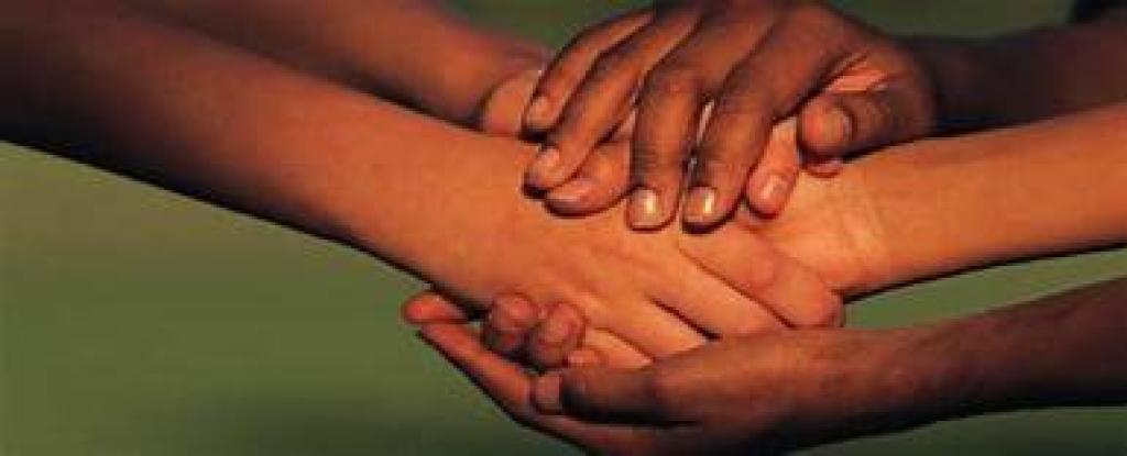Giving hands