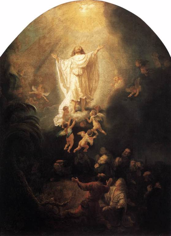 The Ascension of Christ Rembrandt