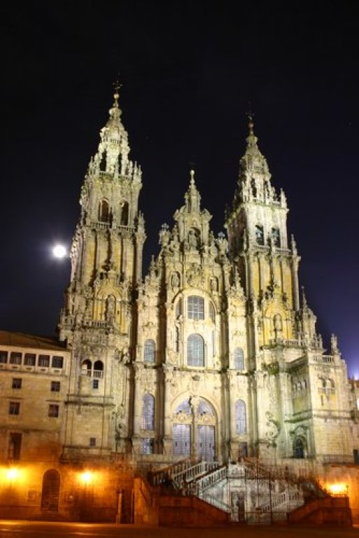 Cathedral of Santigo de Compostela, at Night*