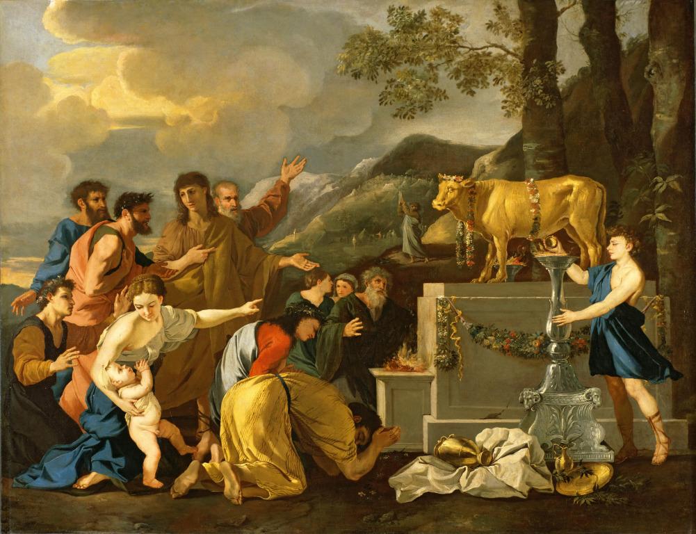 Andrea Di Lione - Adoration of the Golden Calf