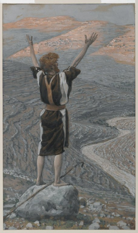 The Voice in the Desert (La voix dans le désert) - James Tissot