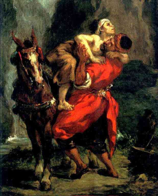 Eugène Delacroix: The Good Samaritan (1849)