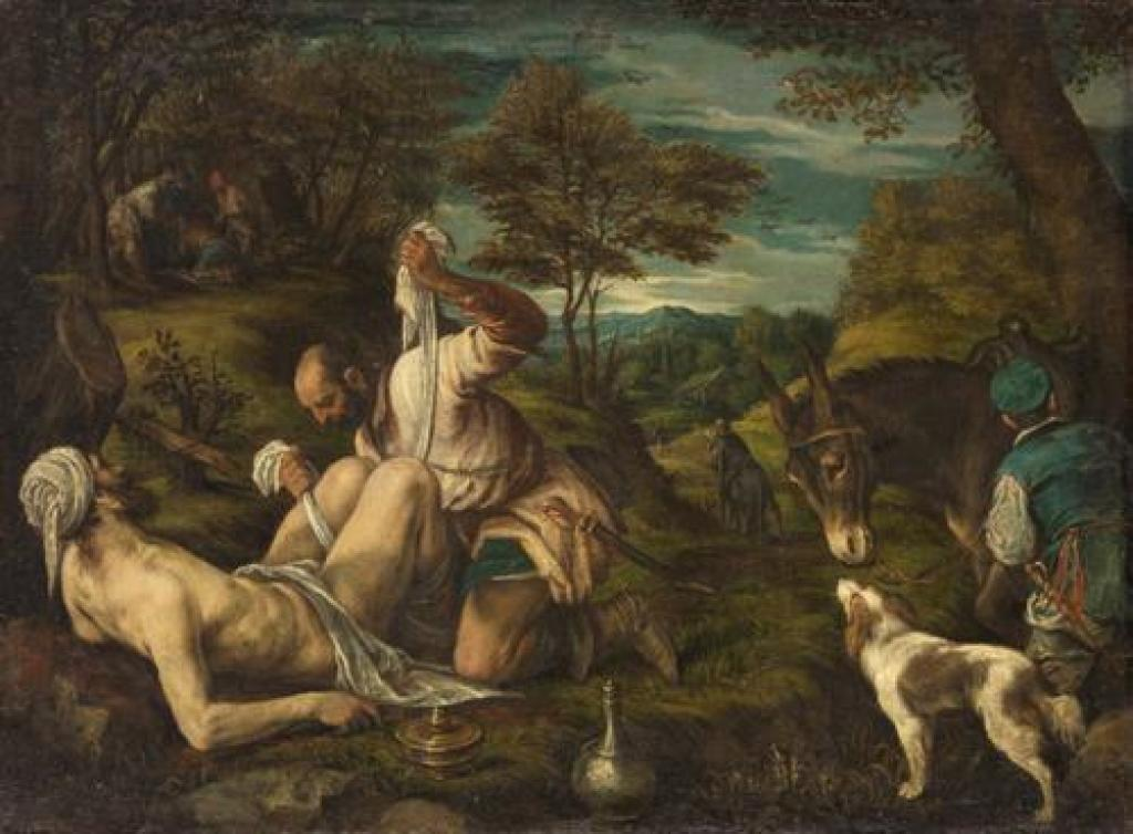 "Francesco Bassano ""The Good Samaritan"""